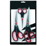Nożyczki stailess 3szt