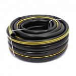 Wąż ogrodowy czar/zółty (wzm)LUX 1/2` 50
