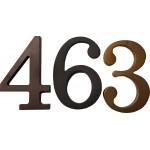 Cyfra duża plasti-3-Cz