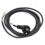 Kabel z wtyczką z/u 5mb przew.guma 3x1