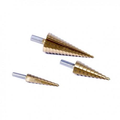 Wiertło stopniowe choinka 4-20mm